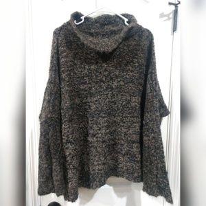 Free people large alpaca sweater
